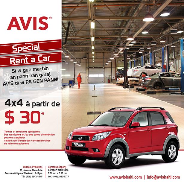 Avis haiti gallery for Garage ad avis